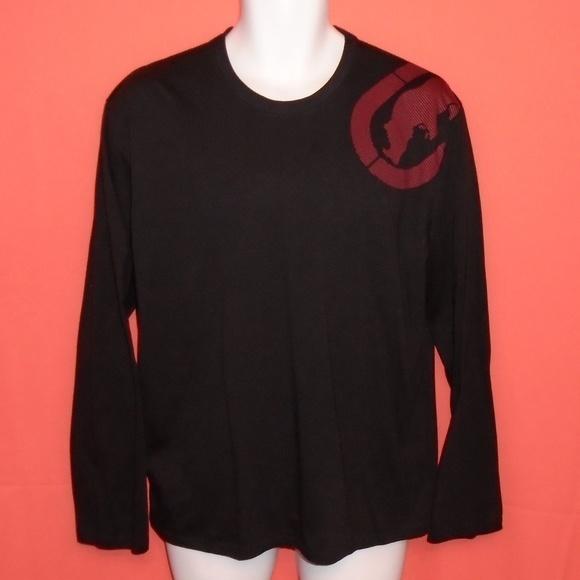 5c76308ac Ecko Unlimited Other - Ecko Unlimited Black Long Sleeve Shirt Rhino Logo